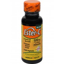 American Health Ester-c With Citrus Bioflavonoids - 500 Mg - 60 Vegetarian Capsules
