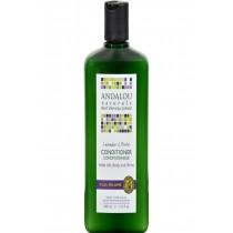 Andalou Naturals Full Volume Conditioner Lavender And Biotin - 11.5 Fl Oz