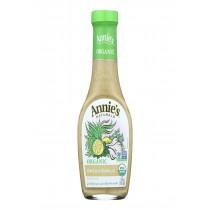 Annie's Naturals Organic Dressing Green Garlic - Case Of 6 - 8 Fl Oz.