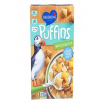 Barbara's Bakery Puffins Cereal - Multigrain - Case Of 12 - 10 Oz.