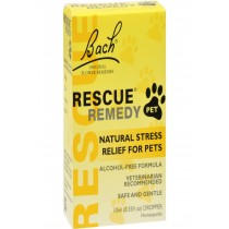 Bach Flower Remedies Rescue Remedy Stress Relief For Pets - 10 Ml