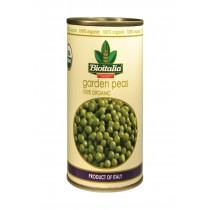 Bioitalia Beans - Green Peas - Case Of 12 - 14 Oz.