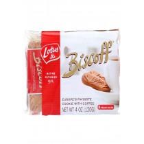 Biscoff Cookies - Snack Pack - 4 Oz - Case Of 12