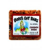 Bobo's Oat Bars - All Natural - Cinnamon Raisin - 3 Oz Bars - Case Of 12