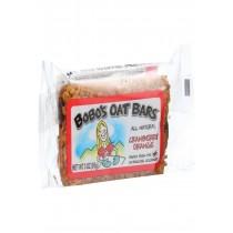Bobo's Oat Bars - All Natural - Cranberry Orange - 3 Oz Bars - Case Of 12