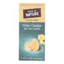 Back To Nature Multi - Seed Rice Thin Crackers - Case Of 12 - 4 Oz.