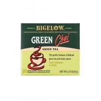Bigelow Tea Tea - Green - Chai - Case Of 6 - 20 Bag