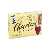 Chocolove Xoxox Premium Chocolate Bar - Fair Trade Organic Dark Chocolate - 3.2 Oz Bars - Case Of 12