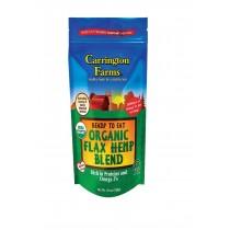 Carrington Farms Organic Flax-hemp Blend - Ready To Eat - Case Of 6 - 10 Oz
