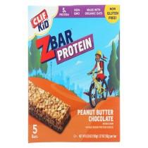 Clif Kid Zbar Organic Kid Zbar Protein - Peanut Butter Chocolate - Case Of 6 - 1.27 Oz.