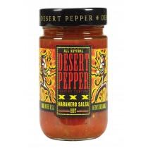 Desert Pepper Trading Xxxtra Hot Habanero Salsa - Case Of 6 - 16 Oz.
