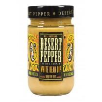 Desert Pepper Trading Medium Hot White Bean Dip - Case Of 6 - 16 Oz.