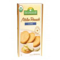 Devonsheer Organic Plain Melba Rounds - Case Of 6 - 5.25 Oz.