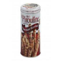 De Beukelaer Crme De Pirouline Rolled Wafers - Chocolate Hazelnut - Case Of 6 - 14 Oz.