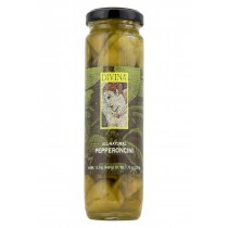 Divina All Natural Pepperoncini - Case Of 6 - 7.75 Oz.