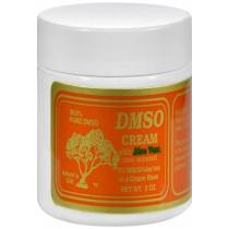 Dmso Cream With Aloe Vera Rose Scented - 2 Oz