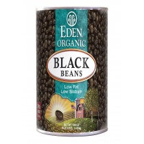 Eden Foods Black Beans Canned - Case Of 6 - 108 Oz.