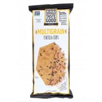 Food Should Taste Good Multigrain Tortilla Chips - Multigrain - Case Of 12 - 5.5 Oz.
