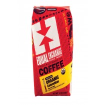 Equal Exchange Organic Whole Bean Coffee - Columbian - Case Of 6 - 12 Oz.