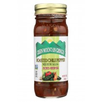 Green Mountain Gringo Roasted Salsa - Chile Pepper - Case Of 12 - 16 Oz.
