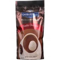 Ghirardelli Hot Cocoa - Premium - Double Chocolate - 10.5 Oz - Case Of 6