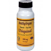 Healthy Origins Ubiquinol Kaneka Qh - 200 Mg - 60 Softgels