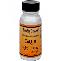 Healthy Origins Coq10 100 Mg - 30 Softgels