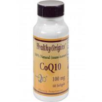 Healthy Origins Coq10 Gels - 100 Mg - 60 Softgels