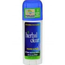 Herbal Clear Deodorant - Stick - Mountain Air Fresh - 1.8 Oz