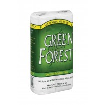 Green Forest Premium Bathroom Tissue - Unscented 2 Ply - Case Of 24