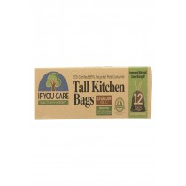 If You Care Tall Kitchen - Trash Bag - Case Of 12 - 12 Count