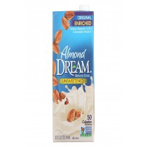 Imagine Foods Almond Dream Almond Drink - Unsweetened - Case Of 12 - 32 Fl Oz.