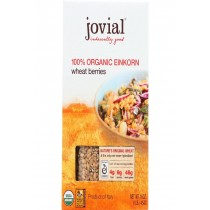 Jovial Wheat Berries - Organic - Einkorn - 16 Oz - Case Of 12