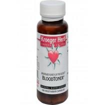 Kroeger Herb Blood Toner - 100 Vegetarian Capsules
