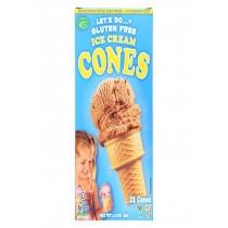 Let's Do Ice Cream Cones - Simple - Case Of 12 - 1.2 Oz.