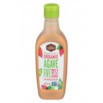 Madhava Honey Organic Agave Five Nectar - Case Of 6 - 16 Oz.