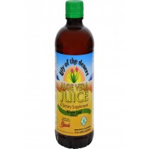 Lily Of The Desert Aloe Vera Juice Whole Leaf - 32 Fl Oz - Case Of 12