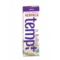 Living Harvest Tempt Hemp Milk - Vanilla - Case Of 12 - 32 Fl Oz.