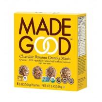 Made Good Granola Minis - Chocolate Banana - Case Of 6 - 3.4 Oz.