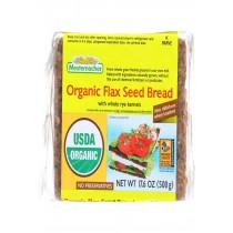 Mestemacher Bread Bread - Organic - Flax Seed - 17.6 Oz - Case Of 12