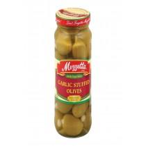 Mezzetta Reese Mezzetta Olive, Stuffed Garlic - Case Of 6 - 10 Oz.