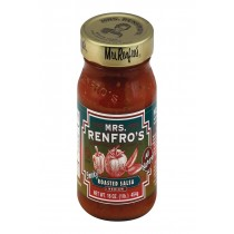 Mrs. Renfro's Fine Foods Salsa, Roasted - Case Of 6 - 16 Oz.