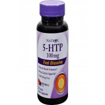 Natrol 5-htp Fast Dissolve Wild Berry - 100 Mg - 30 Tablets