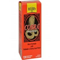 Natural Balance Cobra Sexual Energy - 120 Vegetarian Capsules