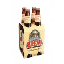Natural Brew Soda Creme Soda - Vanilla - Case Of 6 - 12 Fl Oz.