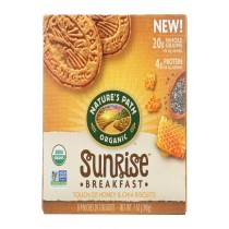 Nature's Path Biscuits - Organic - Honey - Chia - Case Of 6 - 7 Oz