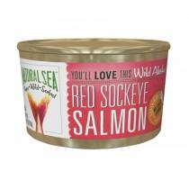 Natural Sea Wild Sockeye Salmon - Unsalted - 7.5 Oz.