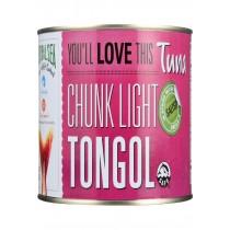 Natural Sea Tuna - Tongol - Chunk Light - Salted - 66.5 Oz - Case Of 6