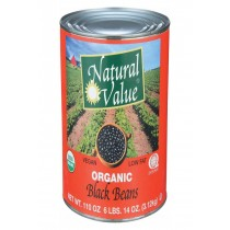 Natural Value Beans And Grains - Case Of 6 - 108 Oz.
