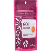 Navitas Naturals Goji Berries - Organic - Sun-dried - 4 Oz - Case Of 12